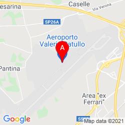 Mapa Aeropuerto de Verona - Villafranca