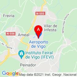 Mapa Aeropuerto de Vigo
