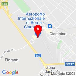 Mapa Ciampino Airport