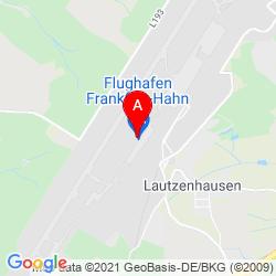 Mapa Flughafen Frankfurt-Hahn GmbH
