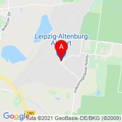 Mapa Flugplatz Altenburg-Nobitz