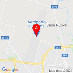 Mapa Parma Airport