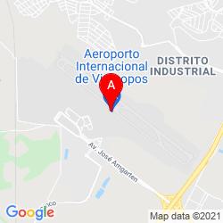 Mapa Viracopos International Airport