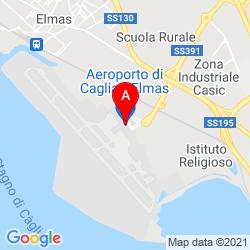 Mapa aeropuerto de Elmas, Cagliari