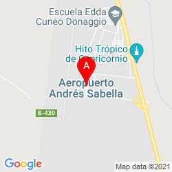 Mapa cerro moreno aeropuerto