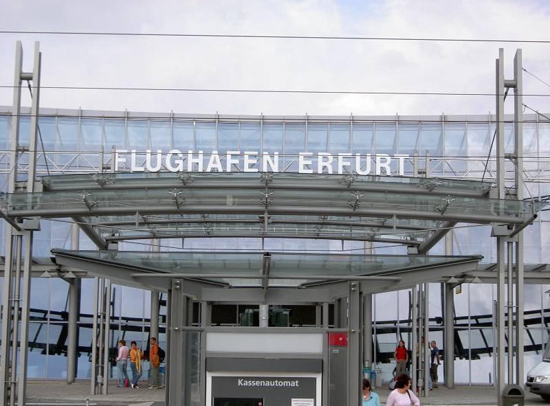 Llegadas Aeropuerto de Erfurt