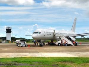 Llegadas de vuelos al Aeropuerto de Mercedita