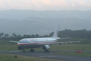Llegadas de vuelos al Aeropuerto del Cibao