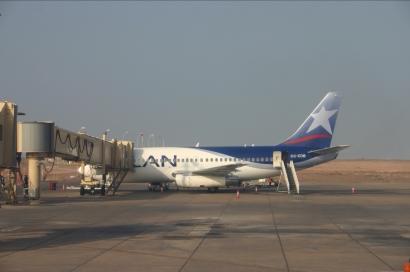 Llegadas de vuelos al Aeropuerto Chacalluta