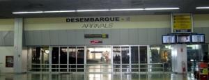 Llegadas de vuelos al Aeropuerto Eduardo Gomes