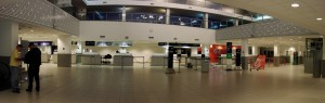 Salón principal Aeropuerto Internacional Rosario