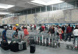 Salidas de vuelos desde el Aeropuerto Indira Gandhi