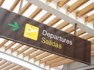 Salidas de vuelos desde el Aeropuerto Chacalluta