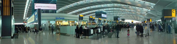 Interior de la Terminal 5