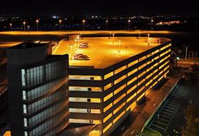 Aparcamiento del aeropuerto internacional de Tampa