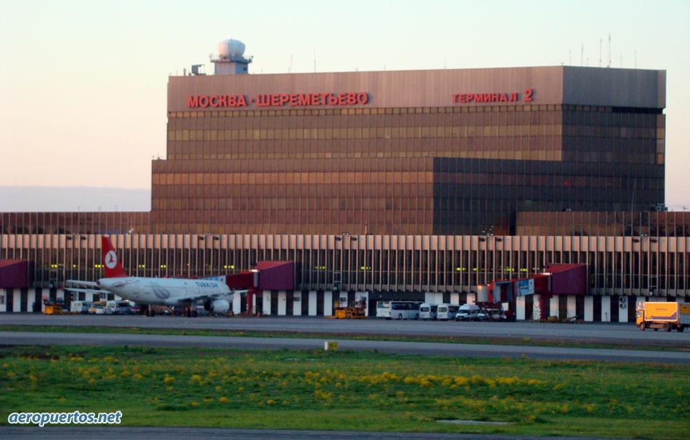 Terminal 2 del Aeropuerto de Moscú
