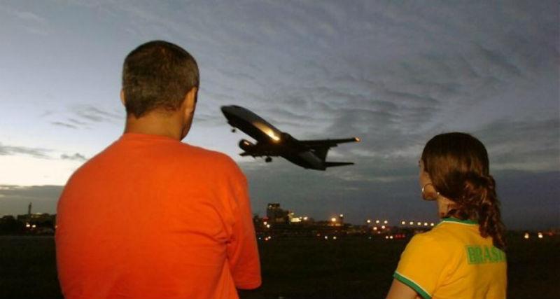 Huelga indefinida Aeropuertos del Brasil