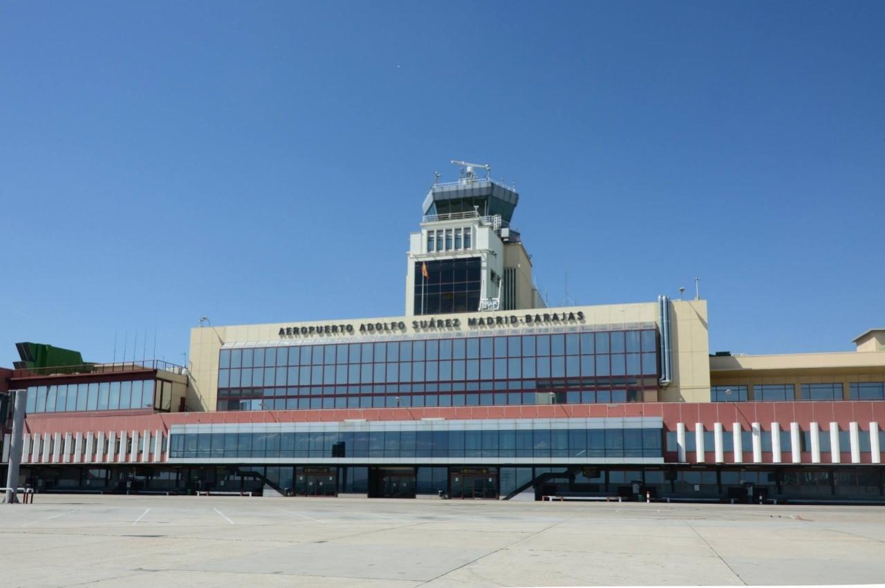 Resultado de imagen de Aeropuerto de barajas