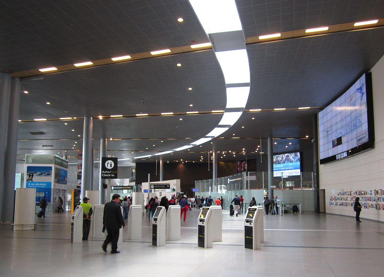 Aeropuerto internacional el dorado bog aeropuertos net for Salida de la oficina internacional de origen