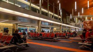 Terminal B del Aeropuerto Internacional Ministro Pistarini de Ezeiza.