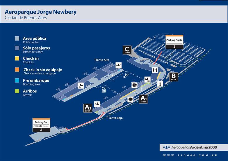 Estacionamiento Aeroparque Jorge Newbery Aeropuertos Net