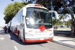 Autobuses del Aeropuerto de la Ciudad de México.