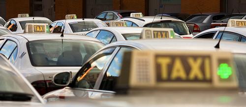 Taxis en el Aeropuerto Madrid Barajas