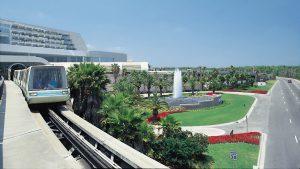 Transporte en el Aeropuerto Internacional de Orlando.