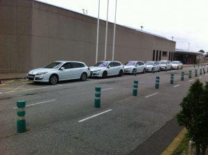 Taxis en el Aeropuerto de Asturias.