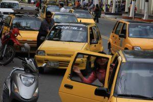 Taxis de Lima.