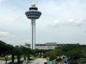 Aeropuerto Internacional de Singapur.