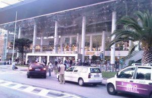 Frontis del Aeropuerto de Nápoles