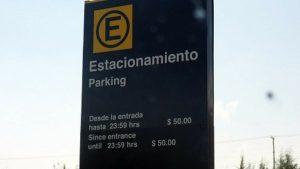 Tarifa por día -  Estacionamiento en Aeropuerto de Puebla.