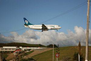 Wellington Airport's runway