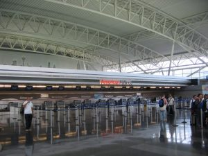 American Airlines new check in at JFK Airport Terminal 8