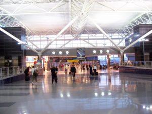 Interiores del Aeropuerto Internacional John F. Kennedy.