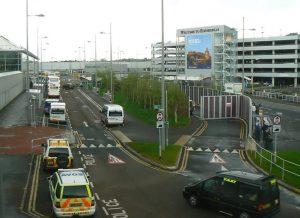 Edinburgh Airport Forecourt