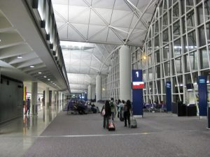 Hong Kong Chep Lap Kok airport