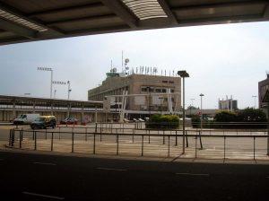 Antiguo edificio en el Aeropuerto de Ezeiza