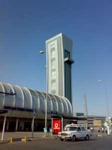 Torre de control del Aeropuerto del Cairo