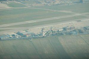 Aeropuerto Cuatro Vientos desde el aire
