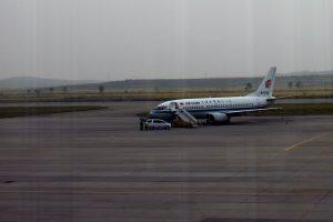 Departuring to Beijing, Sunan Airport, Pyongyang
