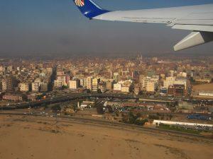 Vista aérea del ciudad del Cairo
