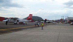 Pista del Aeropuerto Marcos A Gelabert-Ciudad de Panamà