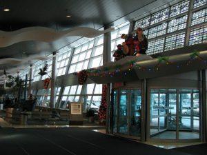 Instalaciones del Aeropuerto de San Juan de Terranova