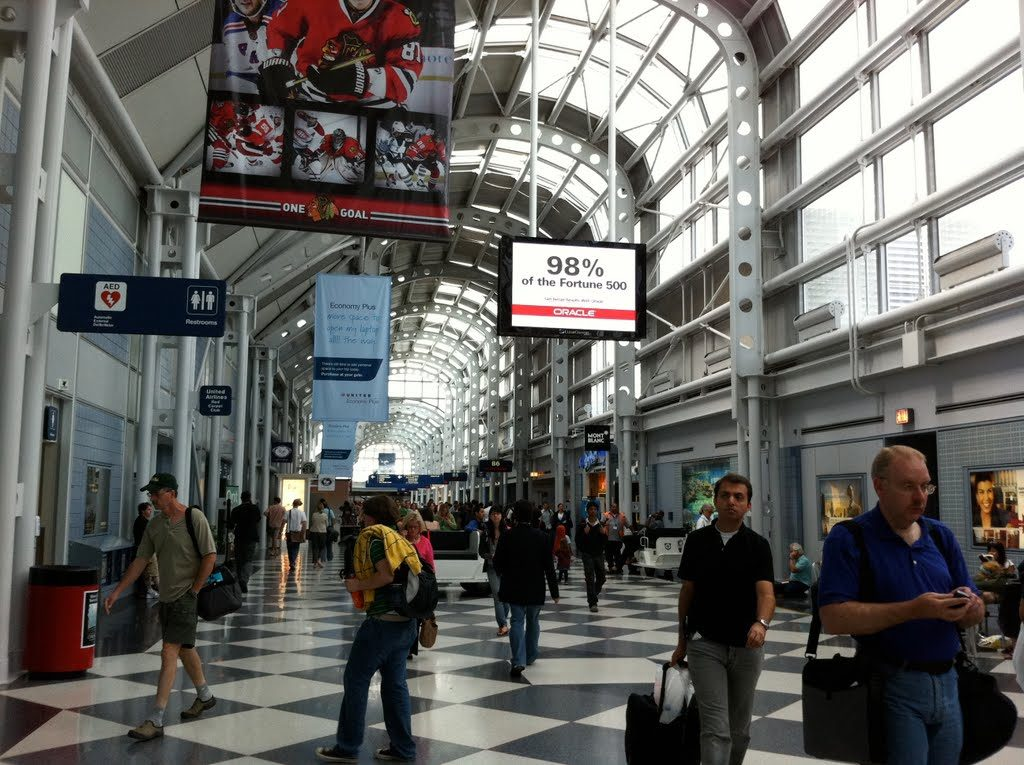Aeropuerto Internacional Chicago-O'Hare (ORD) - Aeropuertos Net