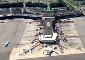 Terminal 2 - São Paulo-Guarulhos (GRU), SP. Brasil.