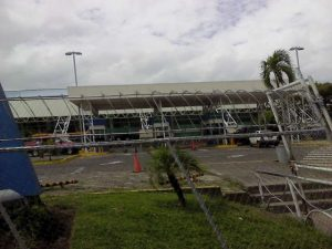 Aeropuerto en Managua