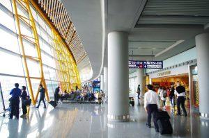 Interior del Aeropuerto de Pekín