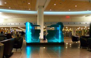 New Winnipeg Airport Departure Terminal, MB